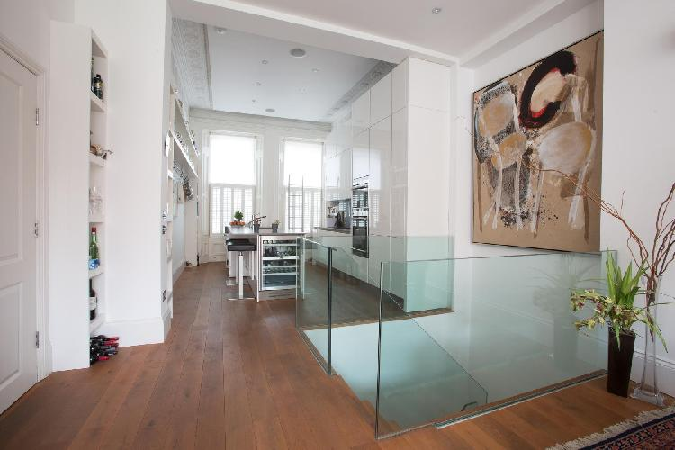 intriguing wall art in London Courtfield Road II luxury apartment
