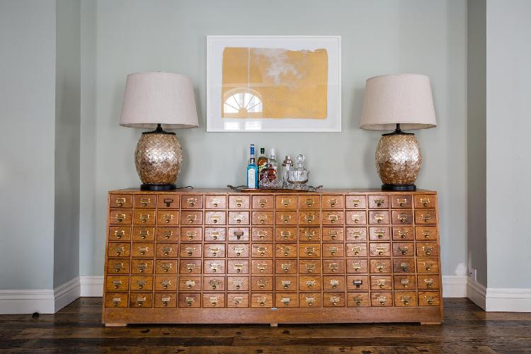 exquisite chest of drawers in London Curzon Street II luxury apartment holiday home