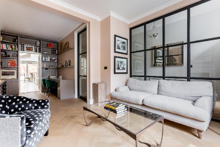 spacious London Rigault Road luxury apartment