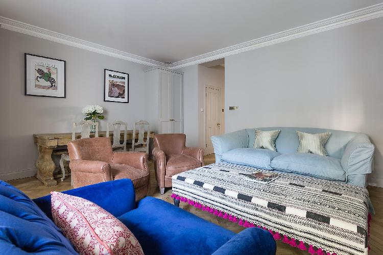 lovely London Leinster Square III luxury apartment