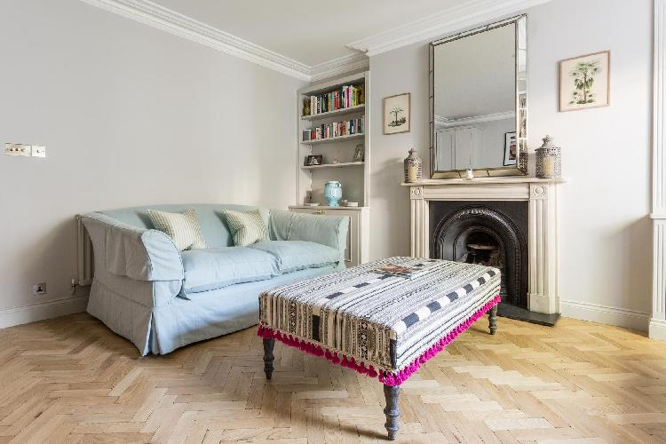 fully furnished London Leinster Square III luxury apartment