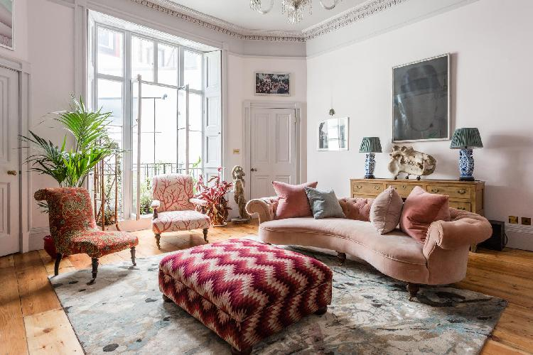 beautiful London Mecklenburgh Square II luxury apartment and holiday home