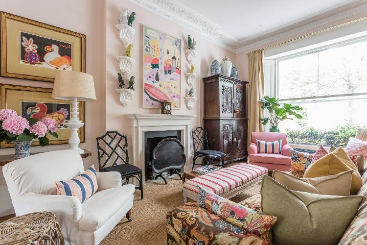 charming London Brunswick Gardens II luxury apartment