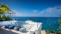 cool deck of Saint Barth Villa Mauresque luxury holiday home, vacation rental