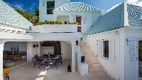cool exterior of Saint Barth Villa Mauresque luxury holiday home, vacation rental