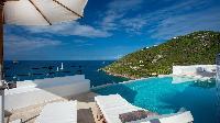 cool swimming pool og Saint Barth Villa Mauresque luxury holiday home, vacation rental