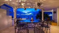 nifty lanai of Saint Barth Villa Mauresque luxury holiday home, vacation rental