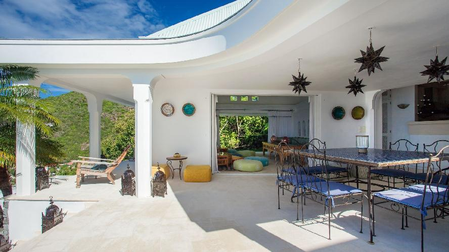 fantastic Saint Barth Villa Mauresque luxury holiday home, vacation rental