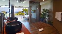 nice interiors of Saint Barth Villa Flamands Bay luxury holiday home, vacation rental