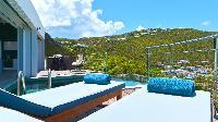 marvelous balcony of Saint Barth Villa Flamands Bay luxury holiday home, vacation rental