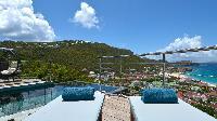 marvelous seaside Saint Barth Villa Flamands Bay luxury holiday home, vacation rental