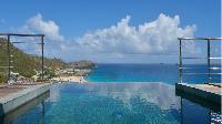 cool swimming pool of Saint Barth Villa Flamands Bay luxury holiday home, vacation rental