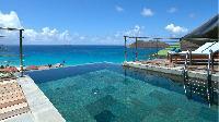 amazing infinity pool of Saint Barth Villa Flamands Bay luxury holiday home, vacation rental