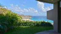beautiful sea view from Saint Barth Villa Flamands Bay luxury holiday home, vacation rental