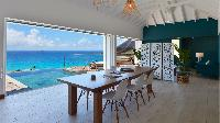 sunny and airy Saint Barth Villa Flamands Bay luxury holiday home, vacation rental