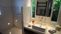 clean bathroom in Saint Barth Villa Serenity luxury holiday home, vacation rental