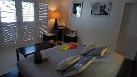 clean bed sheets in Saint Barth Villa Serenity luxury holiday home, vacation rental