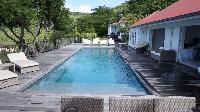 awesome pool of Saint Barth Villa Serenity luxury holiday home, vacation rental