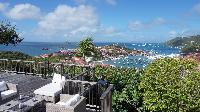 splendid sea view from Saint Barth Villa Serenity luxury holiday home, vacation rental