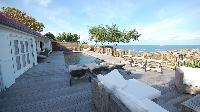 cool terrace of Saint Barth Villa Serenity luxury holiday home, vacation rental