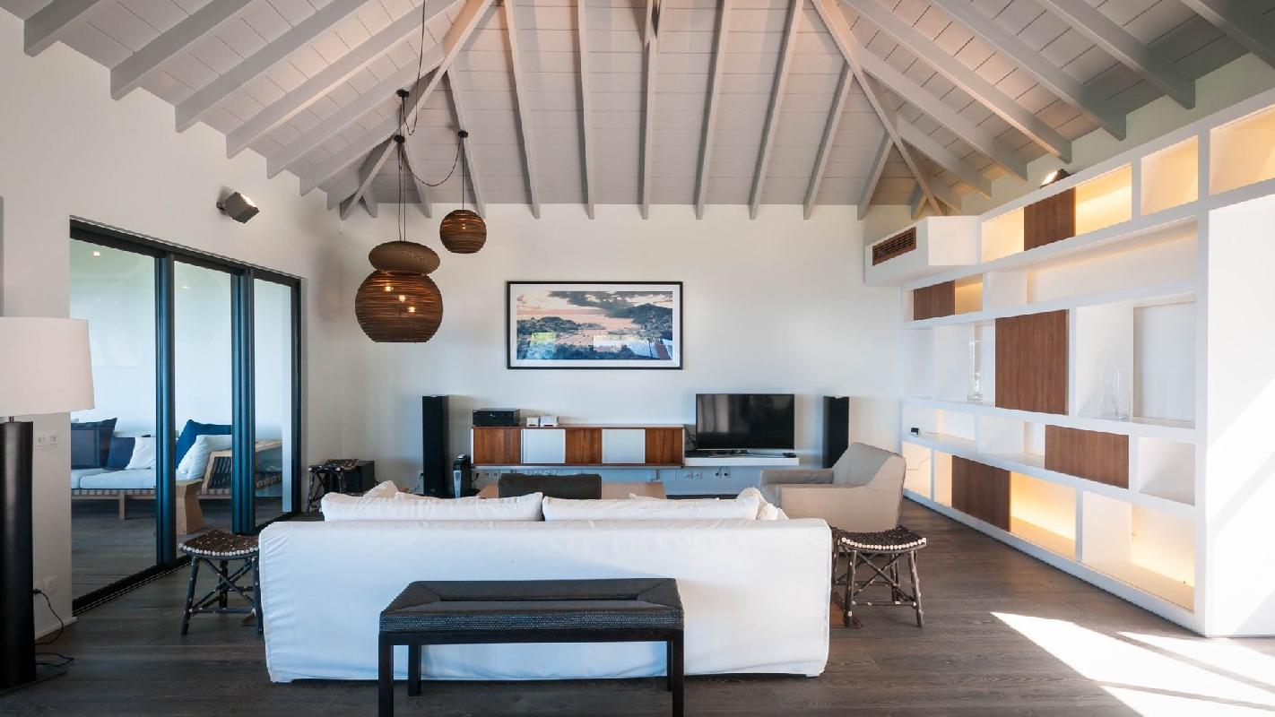 awesome Saint Barth Villa Jocapana luxury holiday home, vacation rental