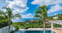 marvelous sea view from Saint Barth Villa Jocapana luxury holiday home, vacation rental