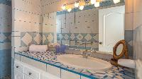 clean lavatory in Saint Barth Villa Bungalow Hansen 2 luxury holiday home, vacation rental
