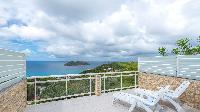 awesome sea view from Saint Barth Villa Bungalow Hansen 2 luxury holiday home, vacation rental