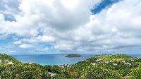 amazing sea view from Saint Barth Villa Bungalow Hansen 2 luxury holiday home, vacation rental