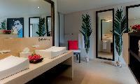 nice bathroom in Saint Barth Villa Cumulus luxury holiday home, vacation rental