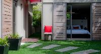 nice garden of Saint Barth Villa Cumulus luxury holiday home, vacation rental