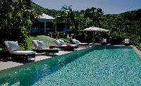 fun pool of Saint Barth Villa Cumulus luxury holiday home, vacation rental