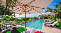 amazing pool of Saint Barth Villa Cumulus luxury holiday home, vacation rental