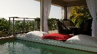 cool cabana of Saint Barth Villa Cumulus luxury holiday home, vacation rental