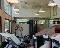 cool gym of Saint Barth Villa Cumulus luxury holiday home, vacation rental
