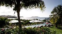 splendid sea view from Saint Barth Villa Cumulus luxury holiday home, vacation rental