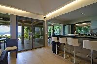 cool breakfast bar of Saint Barth Villa Cumulus luxury holiday home, vacation rental