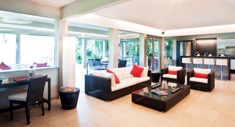 beautiful Saint Barth Villa Cumulus luxury holiday home, vacation rental
