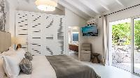 clean bed sheets in Saint Barth Villa Avalon luxury holiday home, vacation rental