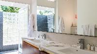 elegant bath in Saint Barth Villa Avalon luxury holiday home, vacation rental