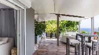 cool lanai of Saint Barth Villa Avalon luxury holiday home, vacation rental