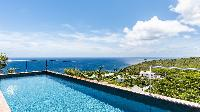 relaxing pool of Saint Barth Villa Avalon luxury holiday home, vacation rental
