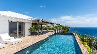 refreshing pool of Saint Barth Villa Avalon luxury holiday home, vacation rental