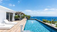 awesome pool of Saint Barth Villa Avalon luxury holiday home, vacation rental