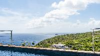 splendid sea view from Saint Barth Villa Avalon luxury holiday home, vacation rental