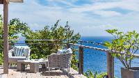 beautiful sea view from Saint Barth Villa Avalon luxury holiday home, vacation rental