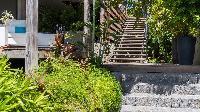 lush garden of Saint Barth Villa Avalon luxury holiday home, vacation rental