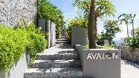 lovely garden of Saint Barth Villa Avalon luxury holiday home, vacation rental