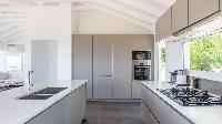 modern kitchen appliances in Saint Barth Villa Avalon luxury holiday home, vacation rental