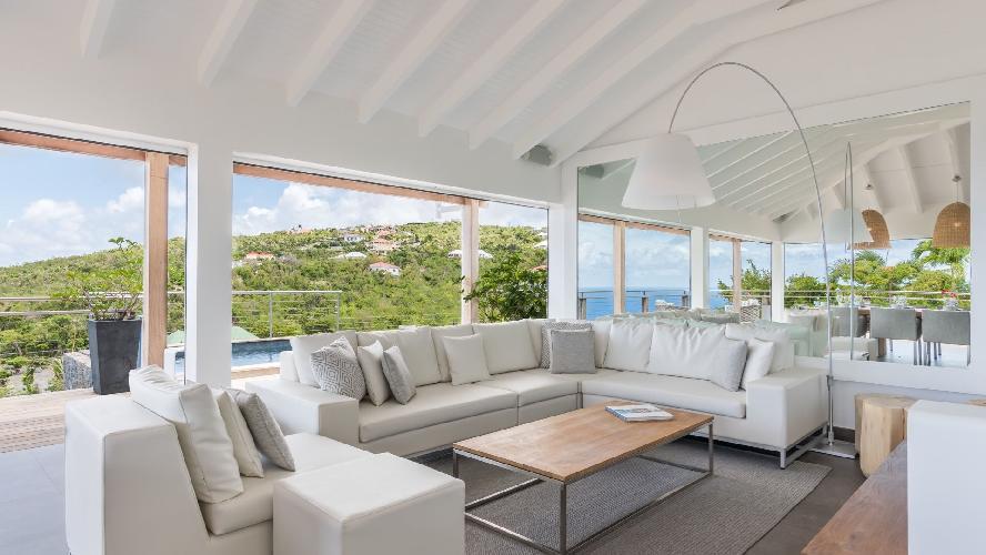 pretty Saint Barth Villa Avalon luxury holiday home, vacation rental